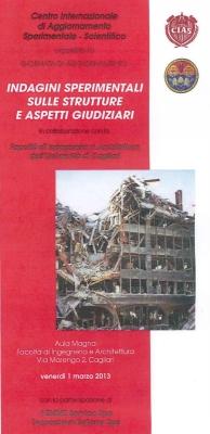 Seminar in Cagliari 1st March 2013
