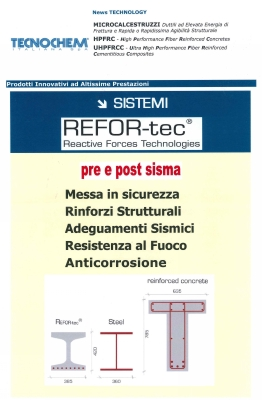 REFOR-tec Pre e Post Sisma Newsletter