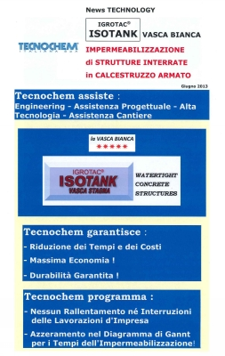 Igrotac ISOTANK  Newsletter