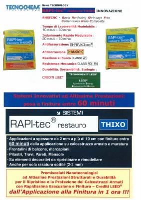 RAPI-tec restauro THIXO Newsletter
