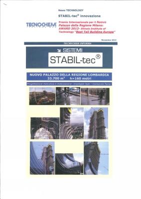 STABIL-tec Palazzo della Regione Milano Newsletter