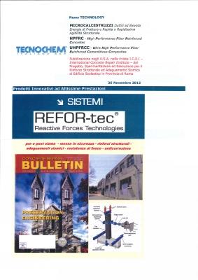 REFOR-tec Scuola di Zagarolo Newsletter