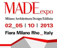 MADE EXPO - Milan 2-5 October 2013