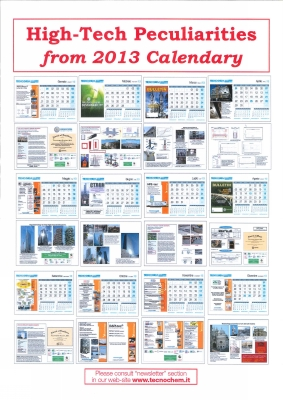 High-Tech Peculiarities from 2013 Calendary