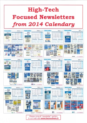 High-Tech Focused Newsletters from 2014 Calendary