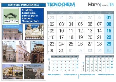 Calendario mese di Marzo 2015