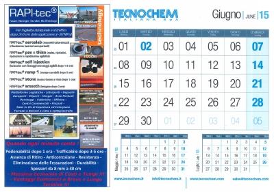 Calendario mese di Giugno 2015