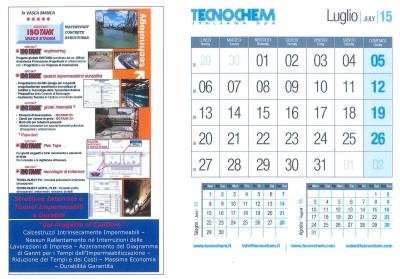 Calendario mese di Luglio 2015