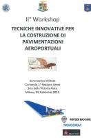 Workshop in Aeronautica Militare, Milan 26/02/2015